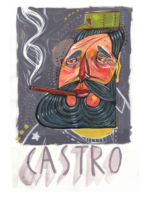 Castro, Illustration